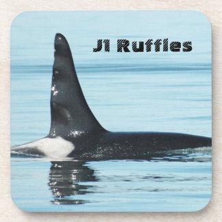 J1 Ruffles Orca Coaster