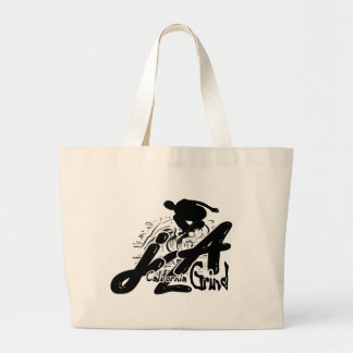 j2A California Grind Logo tote Canvas Bags