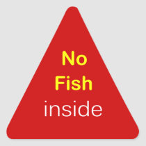 j3 - Food Label ~ NO FISH INSIDE.