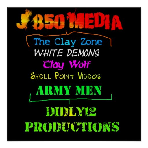 J850 Media & Didly12 Productions Posters