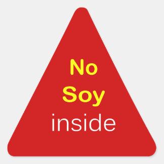 j9 - Food Label ~ NO SOY INSIDE.
