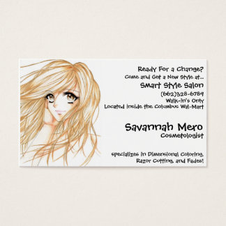 j__Adore_by_M0KiNGBiRD, Savannah Mero, Cosmetol... Business Card