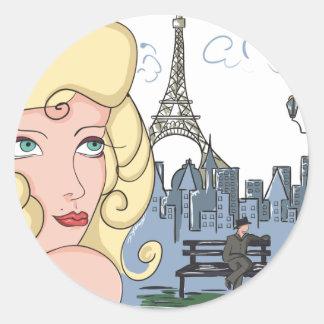 J Adore Paris Sticker