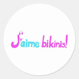 J aime bikinis stickers