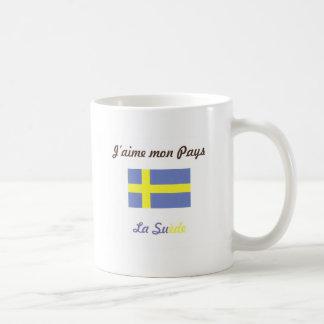J aime la Suède jpg Mugs