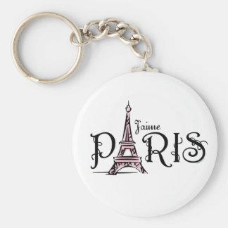 J aime Paris Keychain