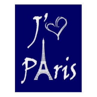 j aime París Postales