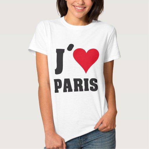 J´AIME PARIS TSHIRTS