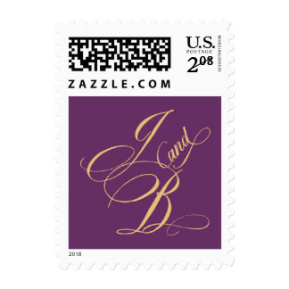 J and B monogram stamp