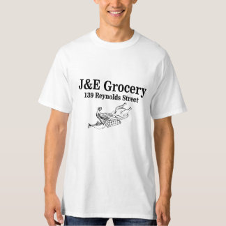 J and E Grocery - 139 Reynolds Street T-shirts