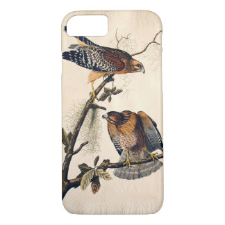 J.. Audubon (Red Shouldered Hawk) (1829) iPhone 8/7 Case
