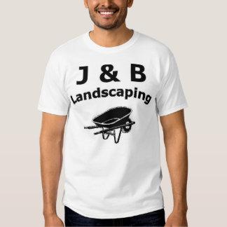 J & B Landscaping T-shirt