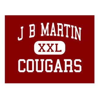 J B Martin - Cougars - Middle - Paradis Louisiana Postcard