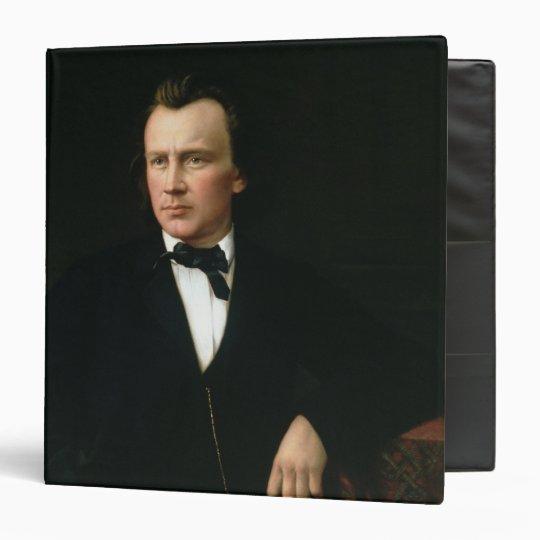 J. Brahms, c.1860 3 Ring Binder