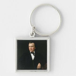 J. Brahms, c.1860 Keychain