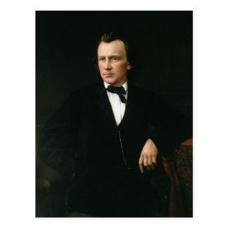 J. Brahms, c.1860 Postcard