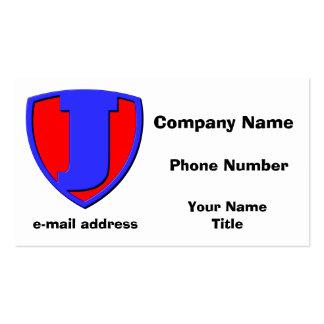 J BUSINESS CARD TEMPLATES