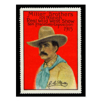 J.C. Miller of the 101 Ranch Poster Stamp Card
