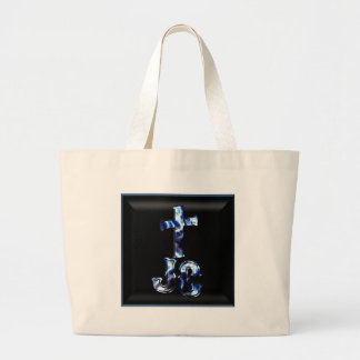 J.C. with Cross Canvas Bags