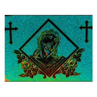 J. Christ 2 ( Aqua ) Postcard