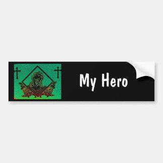 J. Christ 7 ( My hero ) bumper sticker