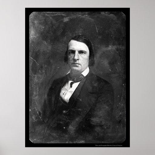 J. Clemens Senator Daguerreotype 1852 Poster