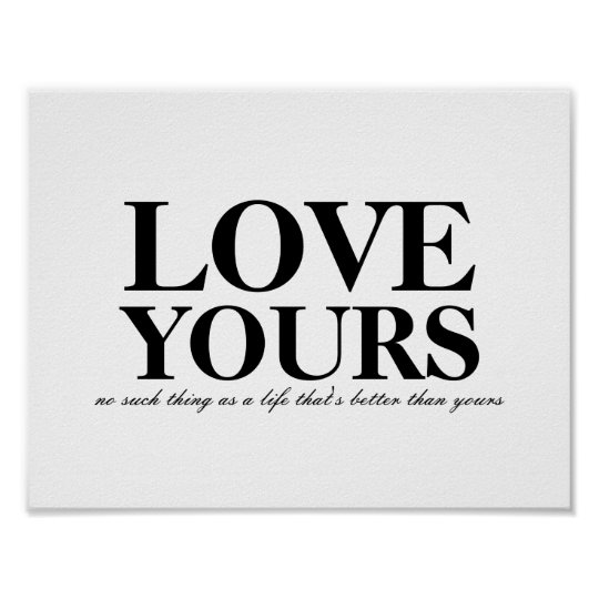J Cole Love Yours Lyric Poster Zazzle Com