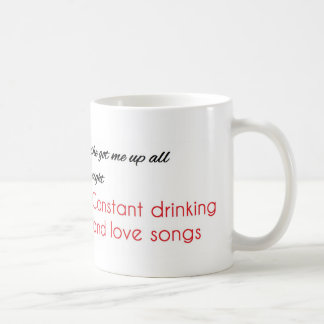 "J. Cole ""Power Trip"" lyrics Mug"