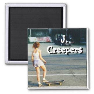 J Creepers Skategirl Magnet