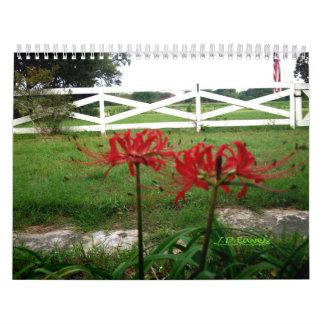 J. D. Eaves Landscape Calendar