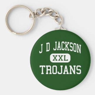 J D Jackson - Trojans - Junior - Cowan Tennessee Keychain