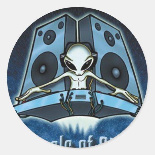 j-deluxe sticker alien