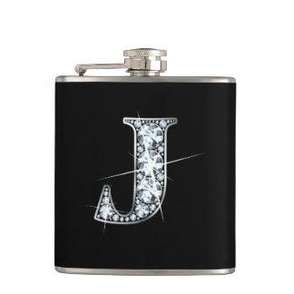 """J """"Diamond Bling"""" Flask"""