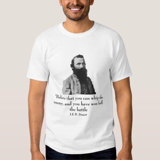 J.E.B. Estuardo y cita Camisas