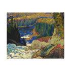 J.E.H. MacDonald - Falls, Montreal River, 1920. Canvas Print