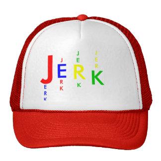 J, E, R, K, ERK, J, RK, JE, K, JER TRUCKER HAT