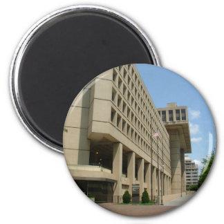 J. Edgar Hoover Building 2 Inch Round Magnet