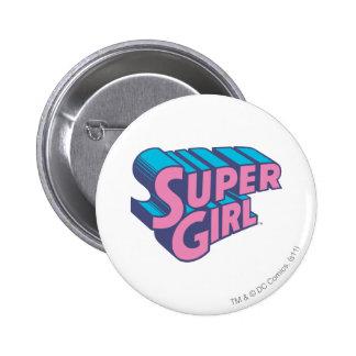 J-Estallido 10 de Supergirl Pin Redondo De 2 Pulgadas
