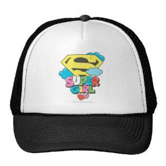 J-Estallido 5 de Supergirl Gorra