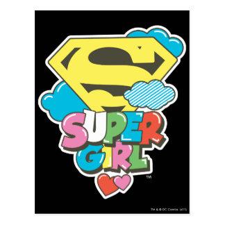J-Estallido 5 de Supergirl Postal