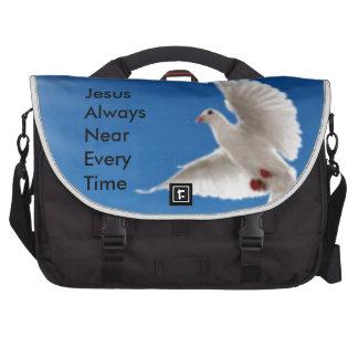 (J)esus(A)lways(N)ear(E)very(T)ime Laptop Computer Bag