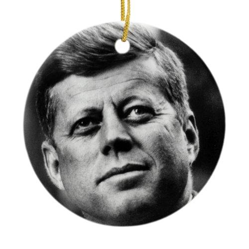 J.F.K. ornament