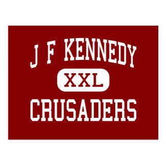 J F Kennedy - cruzados - centro - Natick Tarjetas Postales