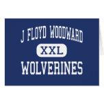 J Floyd Woodward Wolverines Wilkesboro Card