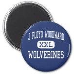 J Floyd Woodward Wolverines Wilkesboro Magnets