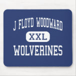 J Floyd Woodward Wolverines Wilkesboro Mousepads