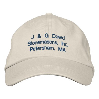 J & G Dowd Stonemasons, Inc.Petersham, MA Baseball Cap