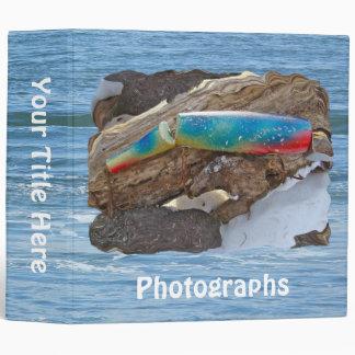 """J & H """"WIG LIT"""" Vintage Saltwater Lure Items Vinyl Binder"""