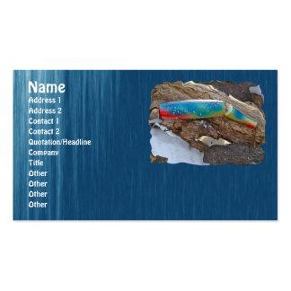 "J & H ""WIG LIT"" Vintage Saltwater Lure Items Business Card Template"
