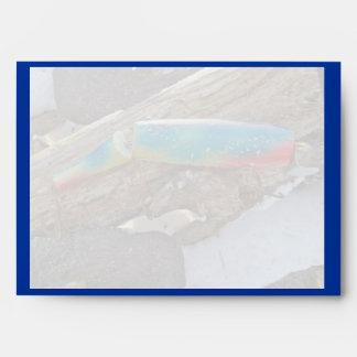 J H WIG LIT Vintage Saltwater Lure Items Envelope